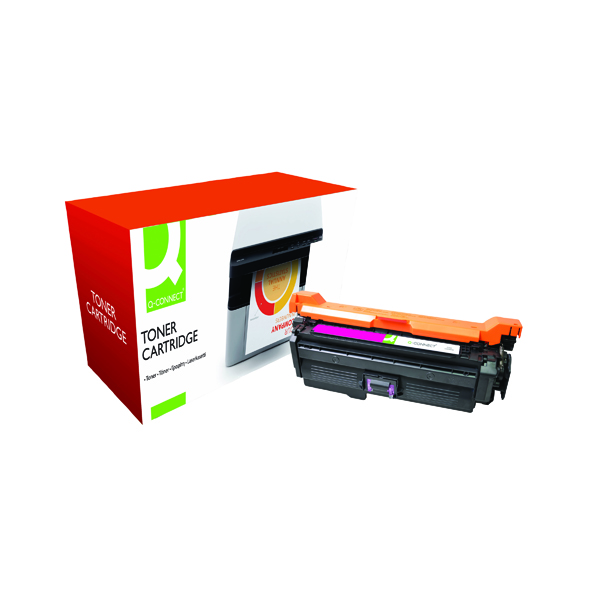 Magenta Q-Connect Compatible Solution HP 648A Magenta Laserjet Toner Cartridge CE263A