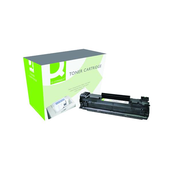 Q-Connect Compatible Solution HP 85A Black Laserjet Toner Cartridge CE285A