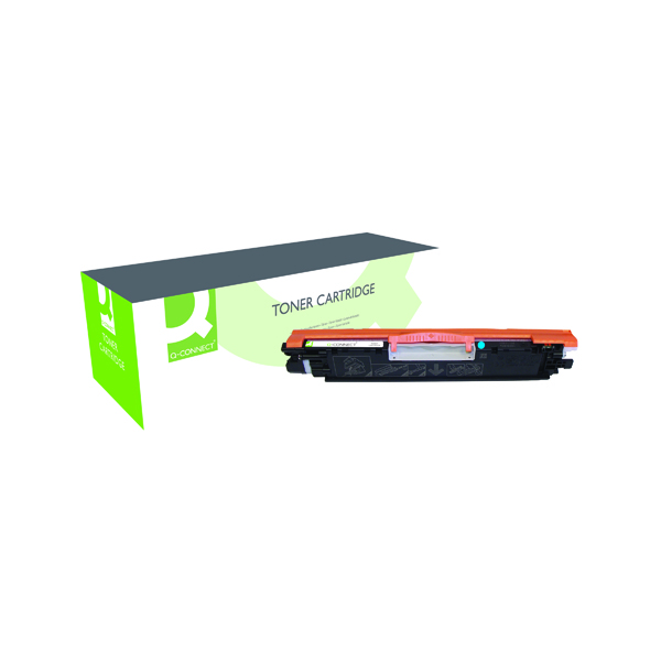 Q-Connect Compatible Solution HP 126A Cyan Laserjet Toner Cartridge CE311A