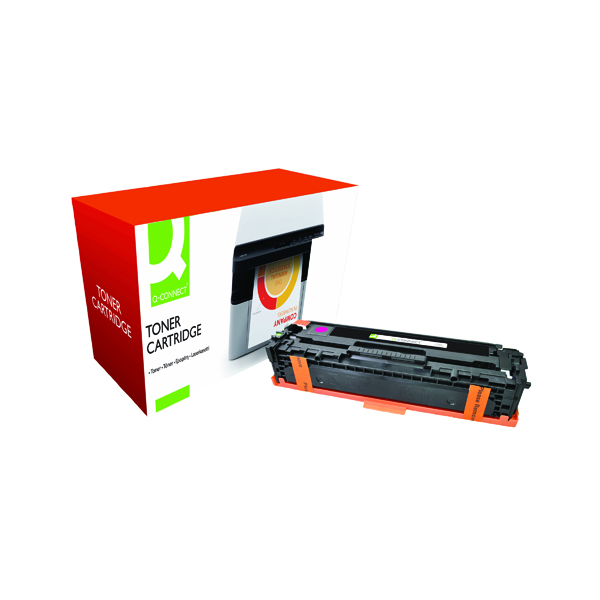 Magenta Q-Connect Compatible Solution HP 128A Magenta Laserjet Toner Cartridge CE323A