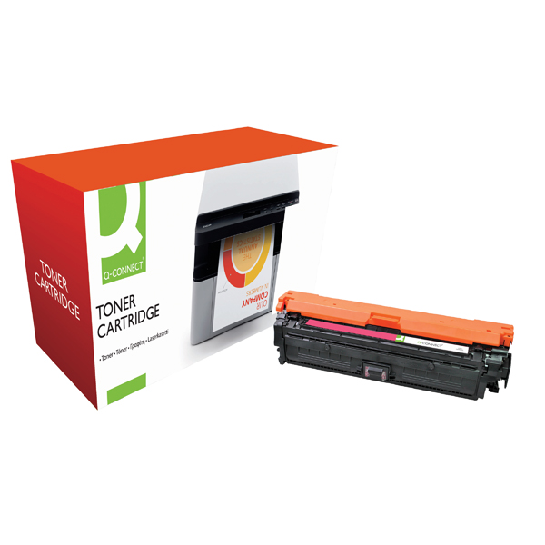 Magenta Q-Connect Remanufactured HP 651A Toner Cartridge CE343A Magenta CE343A-COMP