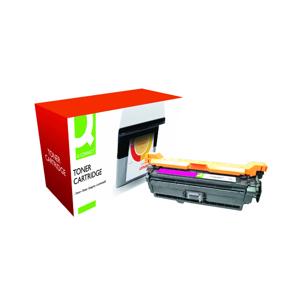 Magenta Q-Connect Compatible Solution HP 507A Magenta Laserjet Toner Cartridge CE403A