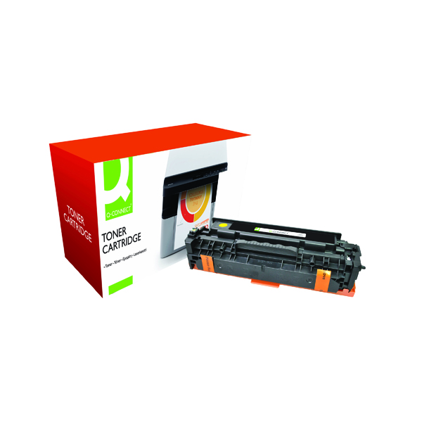 Q-Connect Compatible Solution HP 305A Yellow Laserjet Toner Cartridge CE412A