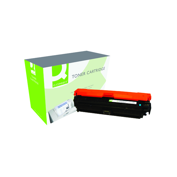 Q-Connect HP 307A Remanufactured Cyan LaserJet Toner Cartridge CE741A