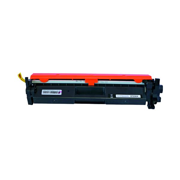 Laser Toner Cartridges Q-Connect HP CF230X Toner Cartridge Black Compatible CF230X-COMP
