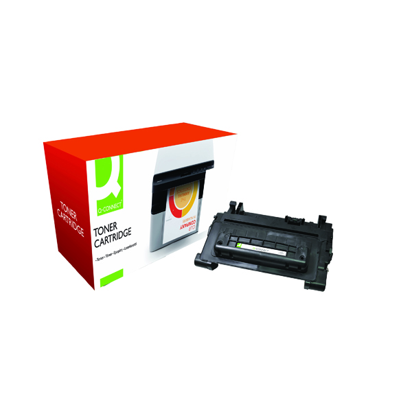 Q-Connect Compatible Solution HP 81A Black Toner Cartridge CF281A