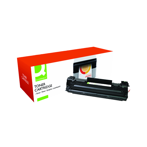 Q-Connect Compatible Solution HP 83A Black Toner Cartridge CF283A
