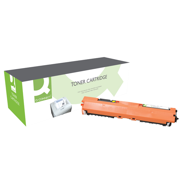 Q-Connect Compatible Solution HP 130A Yellow Toner Cartridge CF352A