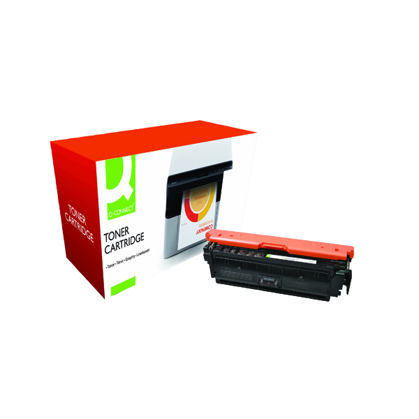 Magenta Q-Connect Compatible Solution HP 508A Magenta Toner Cartridge CF363A