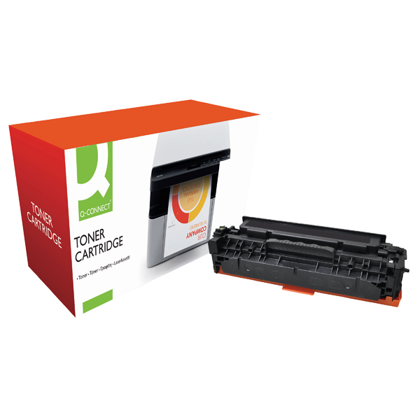 Q-Connect Compatible Solution HP 312X Black Toner Cartridge High Capacity CF380X