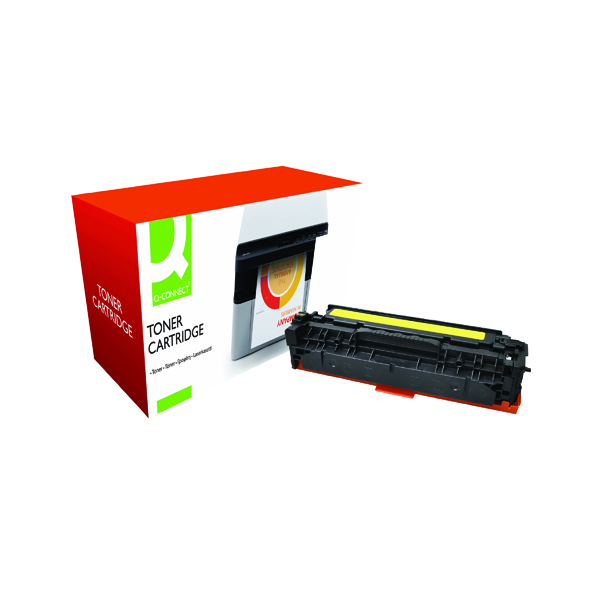Q-Connect Compatible Solution HP 312A Yellow Toner Cartridge CF382A