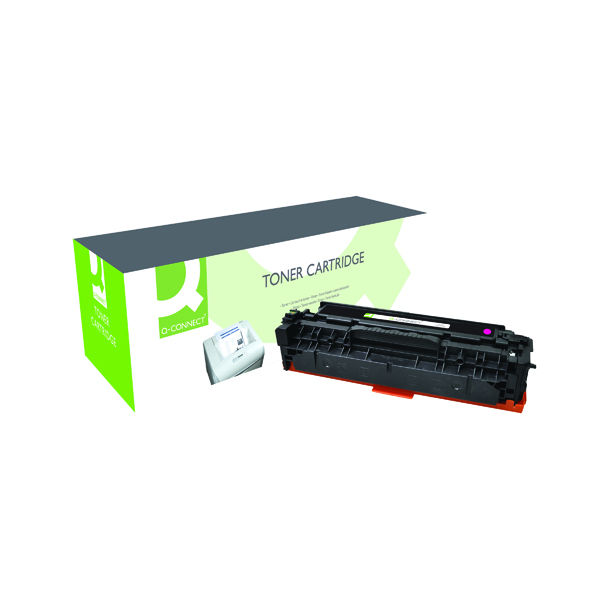 Q-Connect Compatible Solution HP 312A Magenta Toner Cartridge CF383A