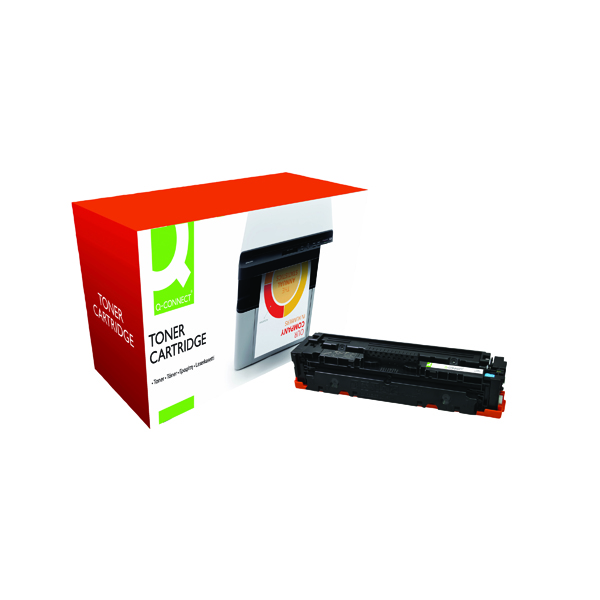 Cyan Q-Connect Compatible Solution HP Jet Intelligence CF411A Cyan Toner Cartridge M452ACVAS