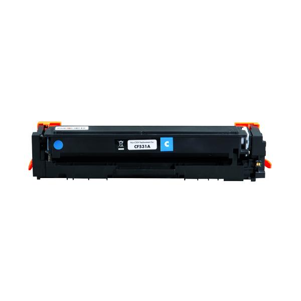 Laser Toner Cartridges Q-Connect HP CF531A Toner Cartridge Cyan Compatible CF531A-COMP