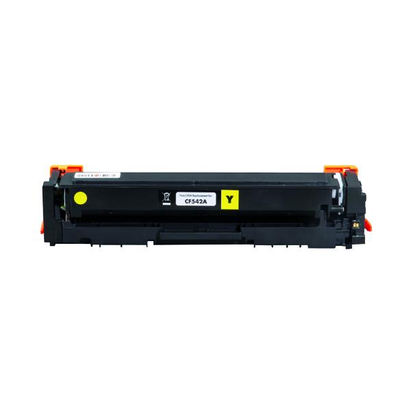 Laser Toner Cartridges Q-Connect HP CF542A Toner Cartridge Yellow Compatible CF542A-COMP