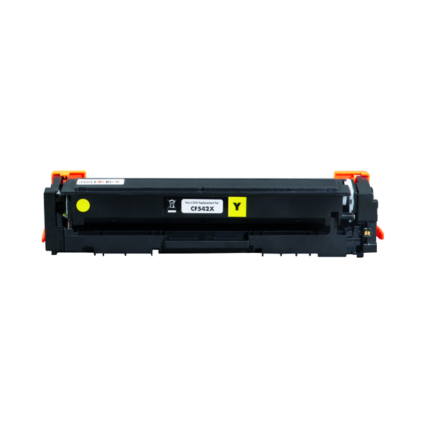 Laser Toner Cartridges Q-Connect HP CF542X Toner Cartridge Yellow Compatible CF542X-COMP