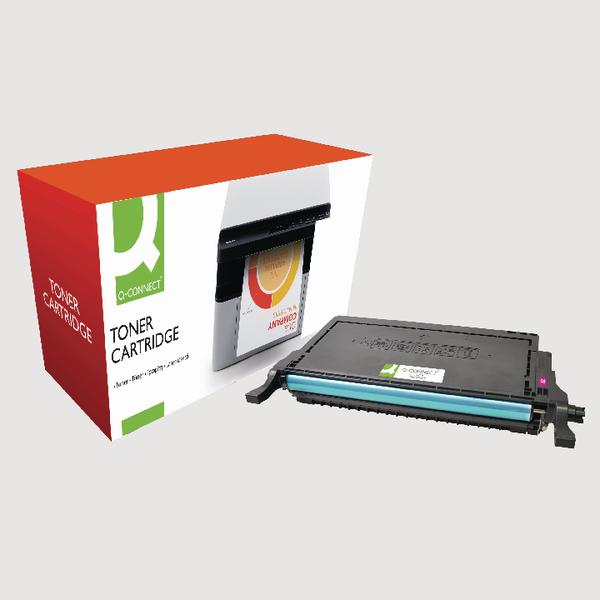 Q-Connect Samsung M660 Reman Magenta Toner Cartridge High Yield CLP-M660B/ELS
