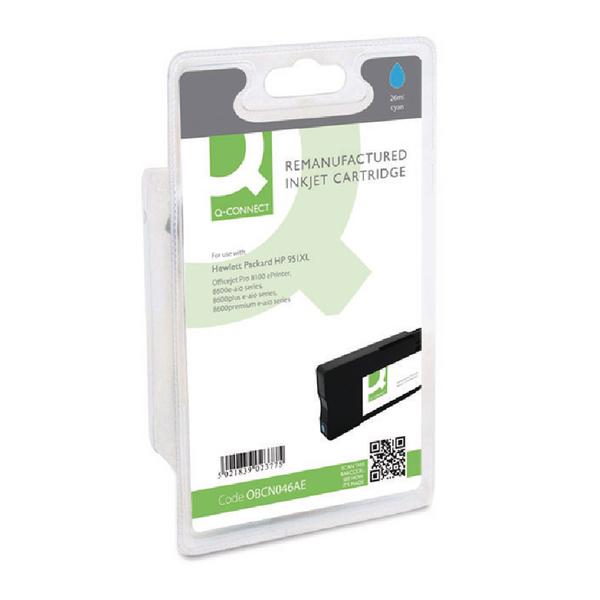 Q-Connect HP 951XL Reman Cyan High Yield Inkjet Cartridge CN046AE