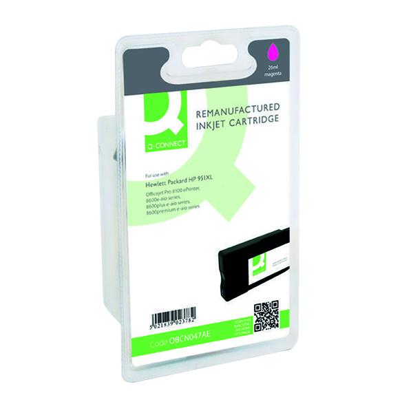 Q-Connect HP 951XL Reman Magenta High Yield Inkjet Cartridge CN047AE