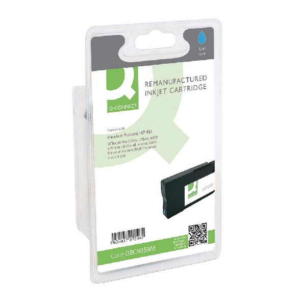 Q-Connect HP 951 CN050AE Cyan Ink Cartridge CN050AE-COMP