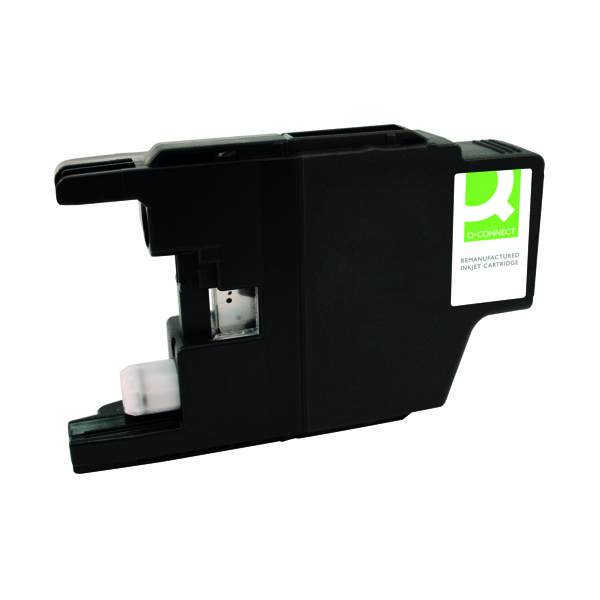 Q-Connect Brother LC127XL Black Ink Cartridge LC127XLBK-COMP