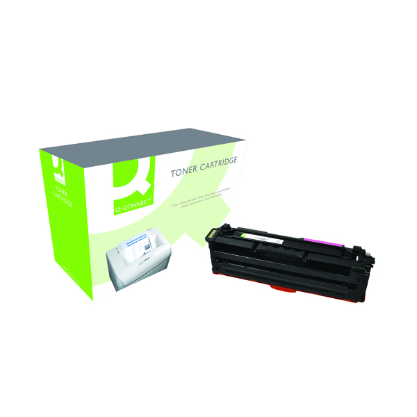 Magenta Q-Connect Samsung M506L Remanufactured Magenta Toner Cartridge High Yield CLT-M506L/ELS
