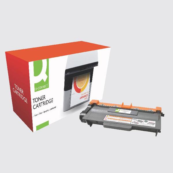 Laser Toner Cartridges Q-Connect Brother TN3520 Toner Cartridge Black TN-3520-COMP