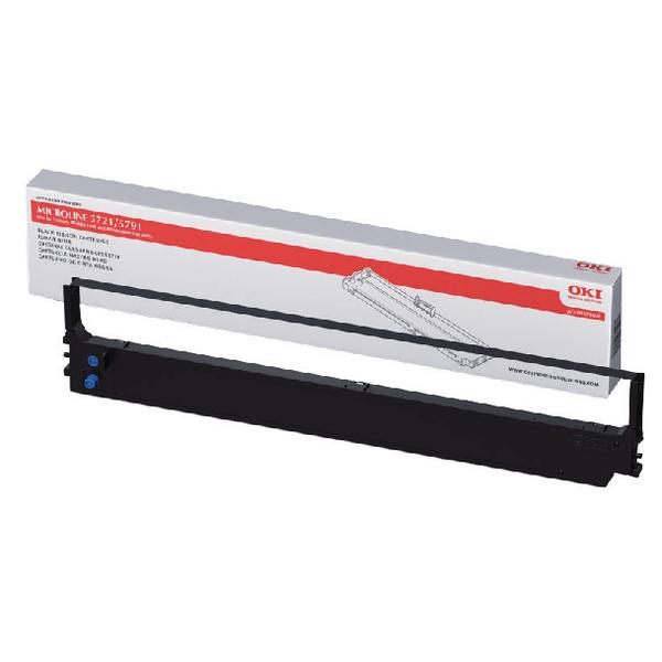 Oki Black Fabric Ribbon For Microline 5721/5791 44173406
