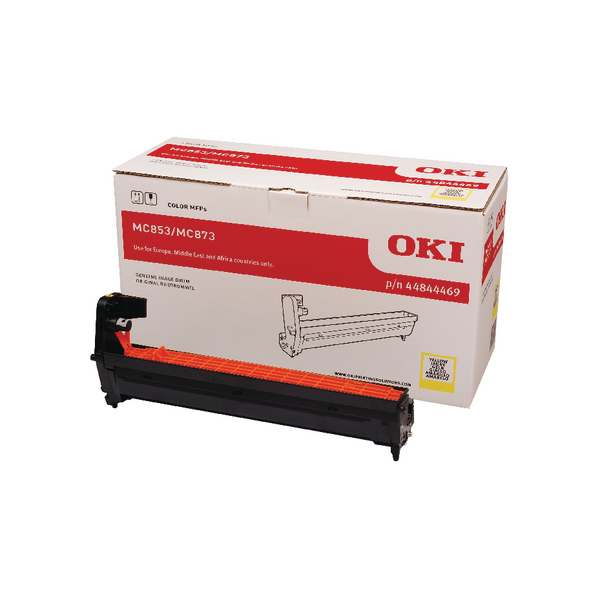 Oki MC853 MC873 Yellow Drum 30000 Page 44844469