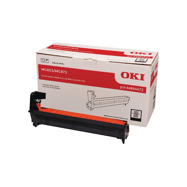 Oki MC853 MC873 Black Drum 30000 Page 44844472