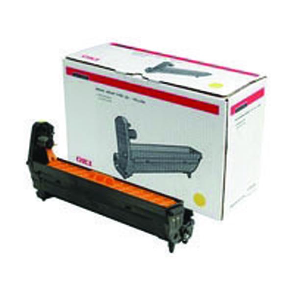 Oki C801/821/810/830/Mc860 Laser Image Drum Yellow 44064009