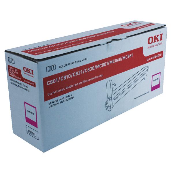 Oki C801/821/810/830/MC860 Laser Magenta Image Drum 44064010