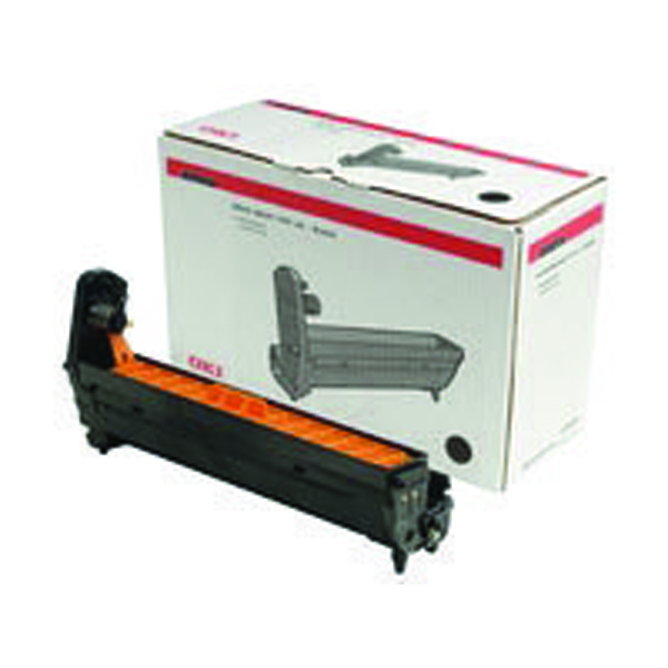 Oki C801/821/810/830/MC860 Laser Black Image Drum 44064012