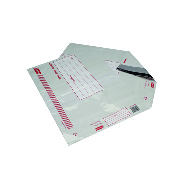 Other Go Secure Extra Strong Polythene Envelopes 345x430mm (25 Pack) PB08220