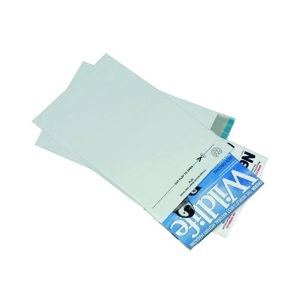 GoSecure Envelope Lightweight Polythene 235x310mm Opaque (100 Pack) PB11123