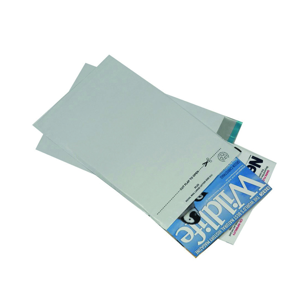 GoSecure Envelope Lightweight Polythene 440x320mm Opaque (100 Pack) PB11126