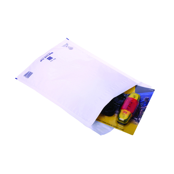 Ampac Envelopes 230x345mm Extra Strong Polythene Padded Bubble Lined Opaque (100 Pack) KSB-3