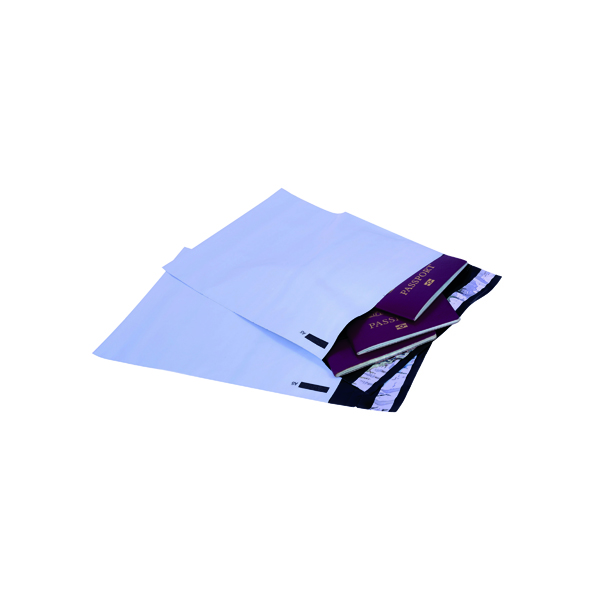 GoSecure Envelope Extra Strong Polythene 165x240mm Opaque (100 Pack) PB12222