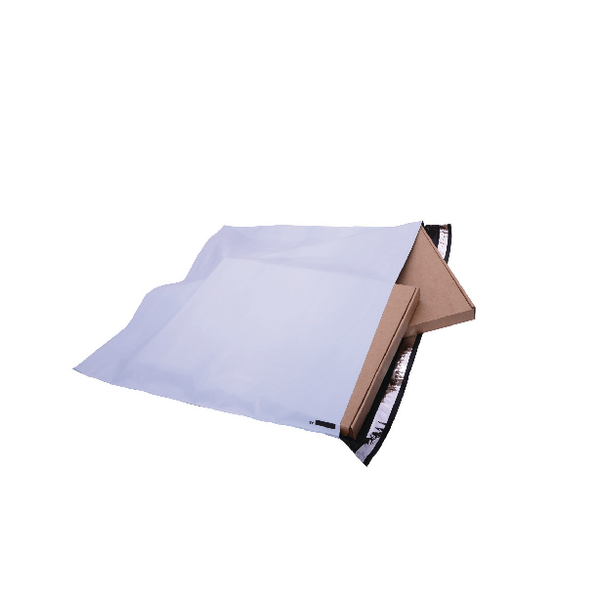 GoSecure Envelope Extra Strong Polythene 460x430mm Opaque (100 Pack) PB28282