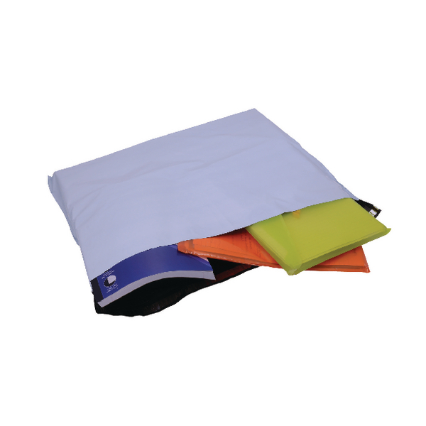 GoSecure Envelope Extra Strong Polythene 595x430mm Opaque (100 Pack) PB29100