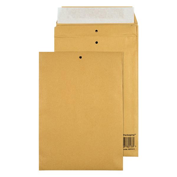 GoSecure Manilla C5 Gusset Pocket Envelope 140gsm (100 Pack) REPDC5