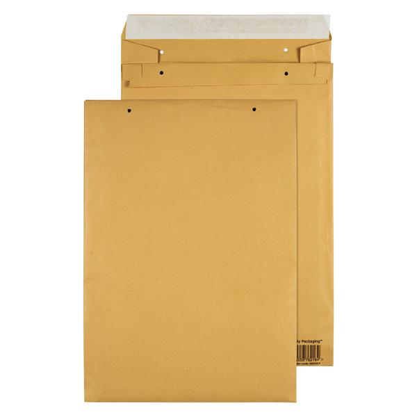 GoSecure Manilla E4 Gusset Pocket Envelope 140gsm (100 Pack) REPDE4