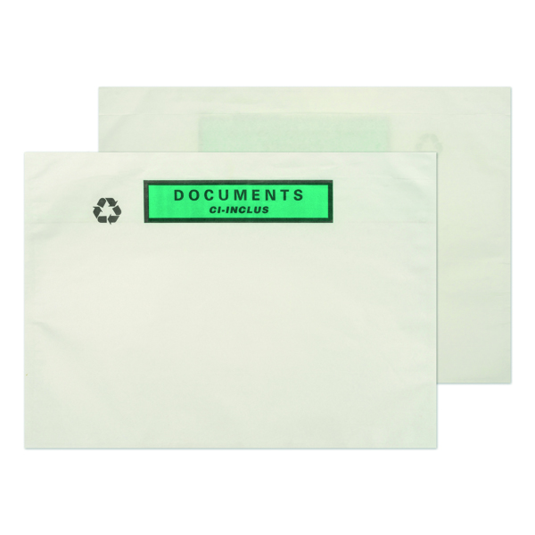 Document Enclosed Wallets GoSecure A5 Paper Document Enclosed Envelope (1000 Pack) PAPDE42
