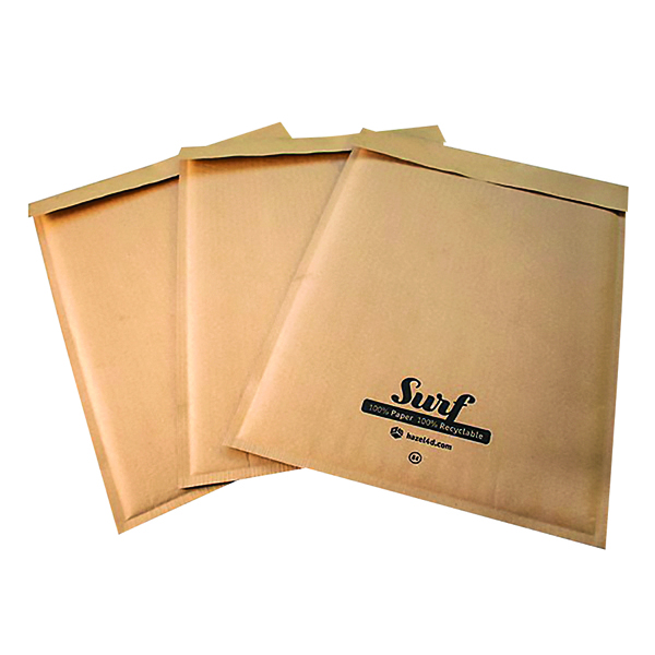 GoSecure Size K7 Surf Kraft Paper Mailer 350mmx470mm (100 Pack) SURFK7K