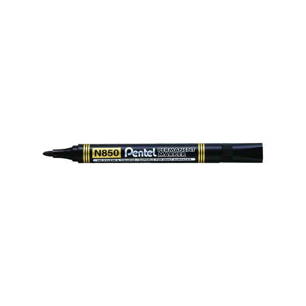 Pentel N850 Permanent Marker Bullet Tip Marker (12 Pack) N850-AE