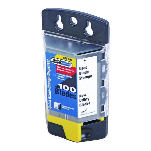 Knives/Cutters Quick Blade Change Dispenser 100 Blades QBD-325