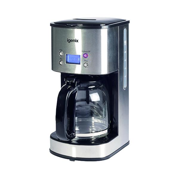 Digital 10 Cup Coffee Maker Silver IG8250