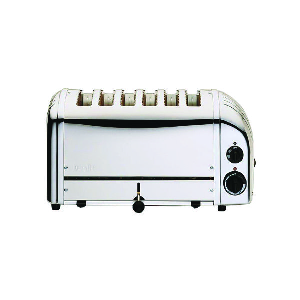 Toaster Dualit Vario 6 Slice Toaster Stainless Steel DA0144