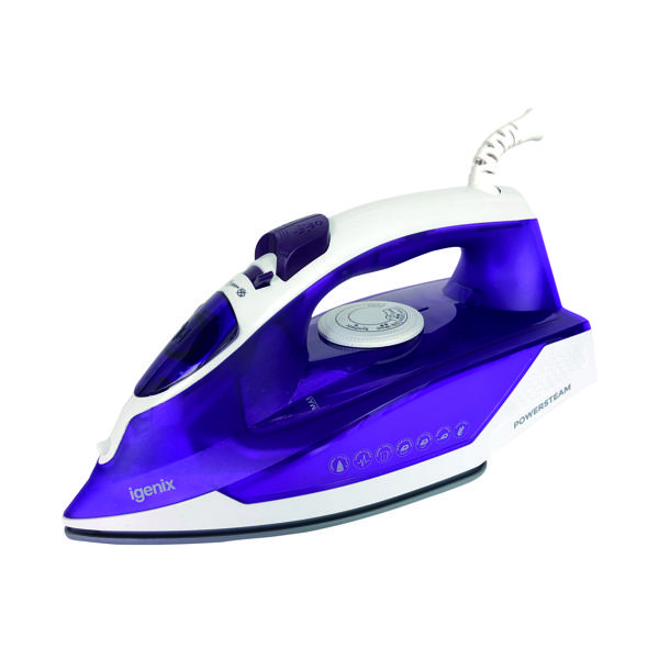 Various Igenix 2000 Watt Electric Corded Steam Iron IG3121