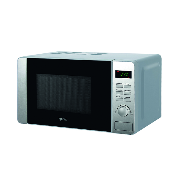 Fridge Igenix 20 Litre 800w Digital Microwave Stainless Steel IG2060